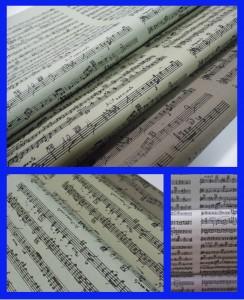 papel serigrafia musica 50x70