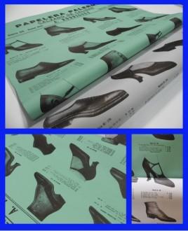 papel serigrafia zapatos 70x100