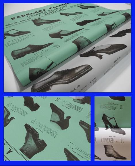 papel serigrafia zapatos 70×100